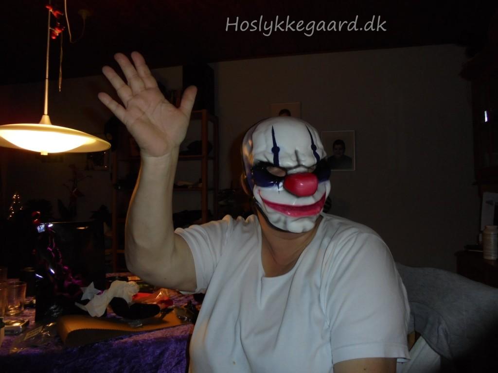 Jeg skulle jo også prøve Pay Day masken