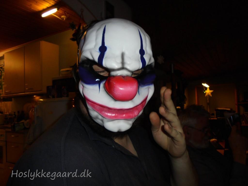 Mathias med maske