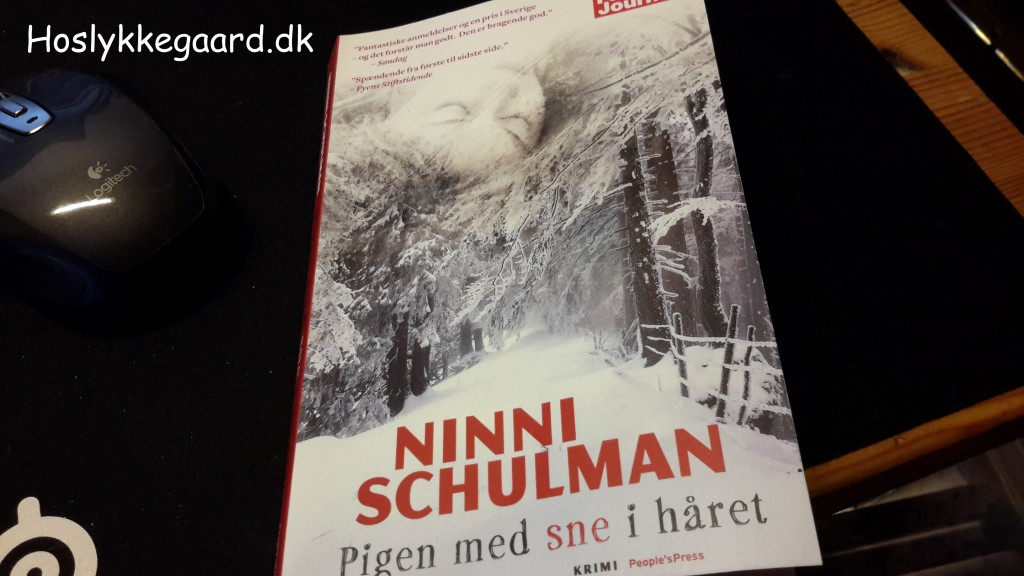 Bogen jeg læser - Den er god !!