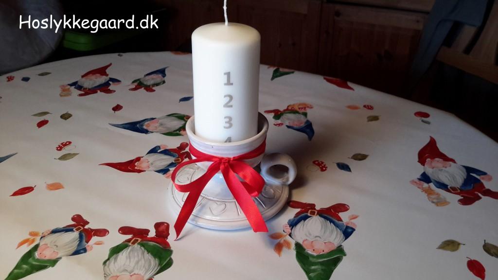Ingen Jul uden min fars gamle lysestage