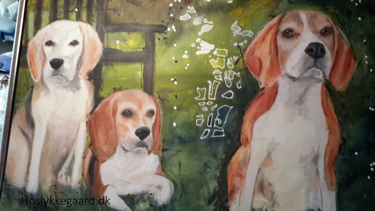 Beaglepack maleri