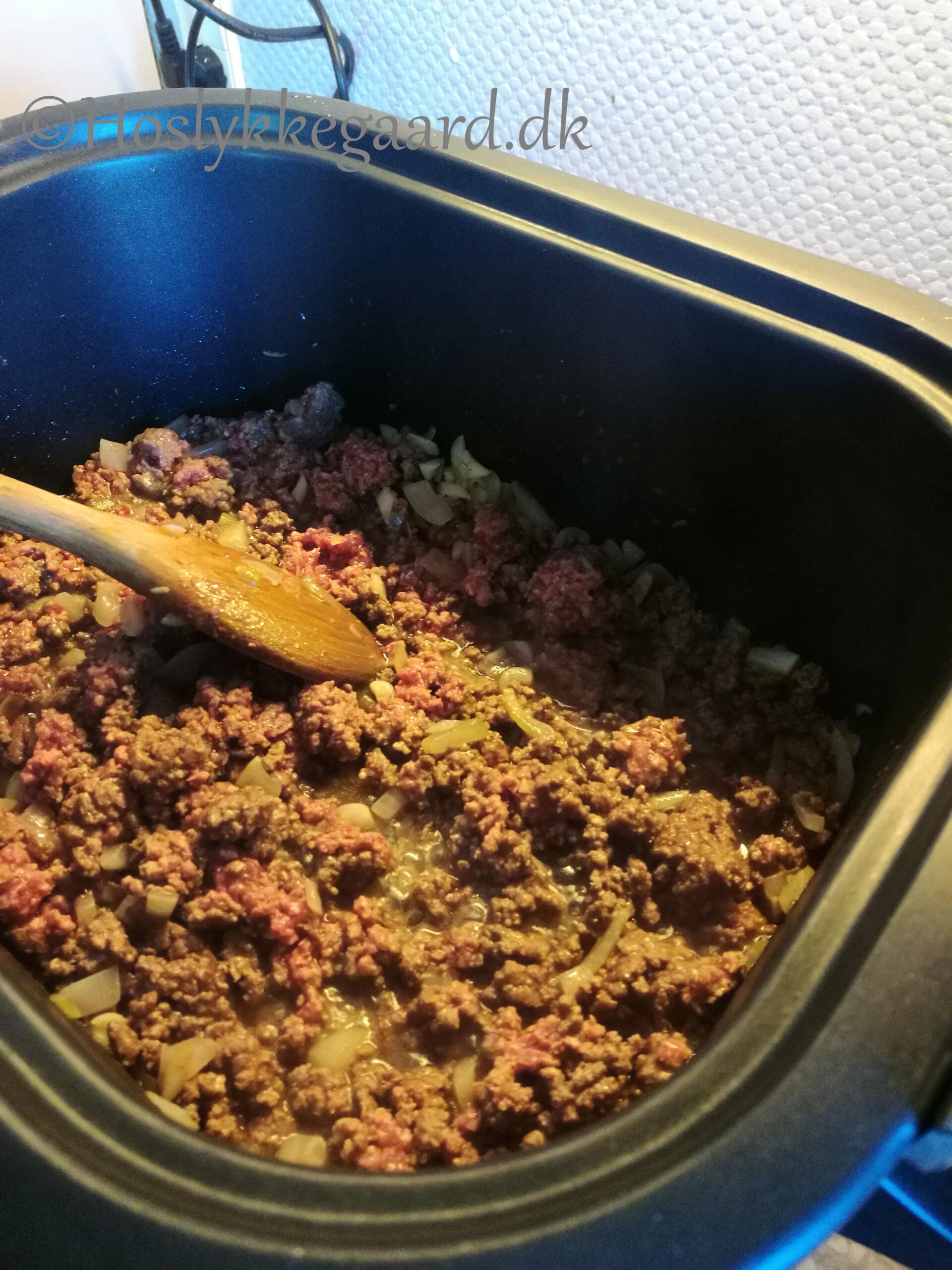 Kødsovs i crockpot